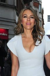 Elizabeth Hurley - Leicester Square on Bonfire Night, London 11/05/2017