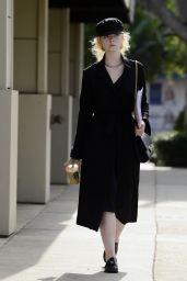 Elle Fanning - Robertson Boulevard in LA 11/27/2017