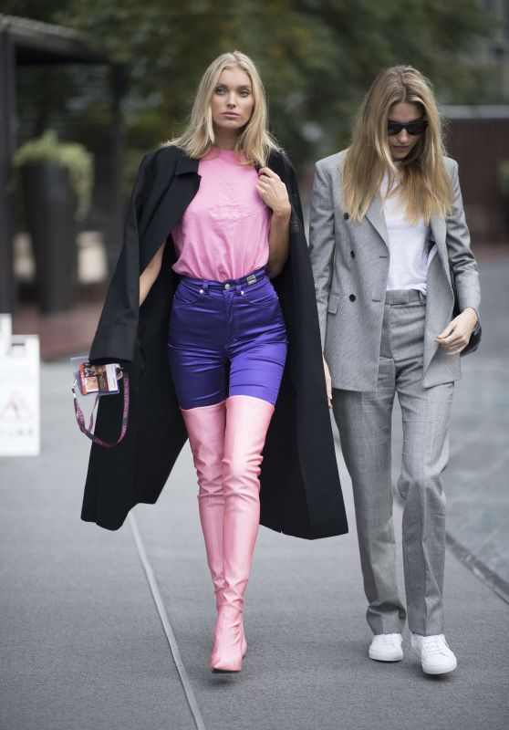 Elsa Hosk and Martha Hunt – Shanghai, China 11/22/2017