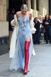 Elsa Hosk Fashion - Wendy Williams Show in NYC