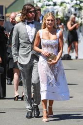 Elyse Knowles – Derby Day in Melbourne 11/04/2017