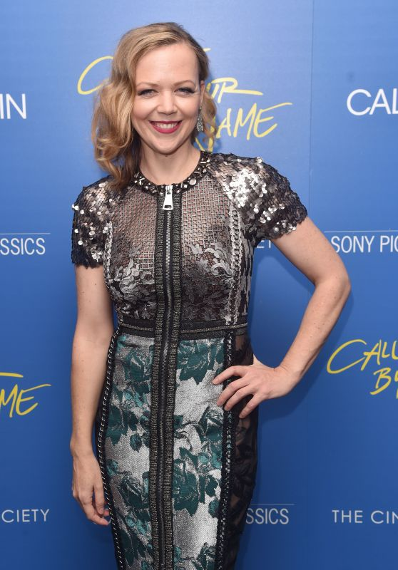 "Emily Bergl – ""Call Me By Your Name"" Screening in New York"
