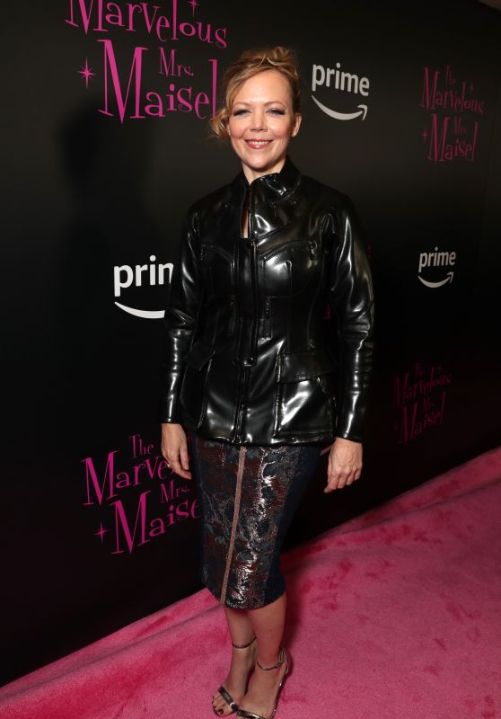 "Emily Bergl – ""The Marvelous Mrs. Maisel"" TV Series Premiere in New York"