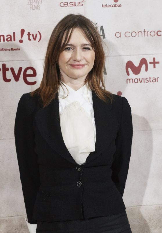 "Emily Mortimer - ""The Bookshop"" Photocall in Madrid"