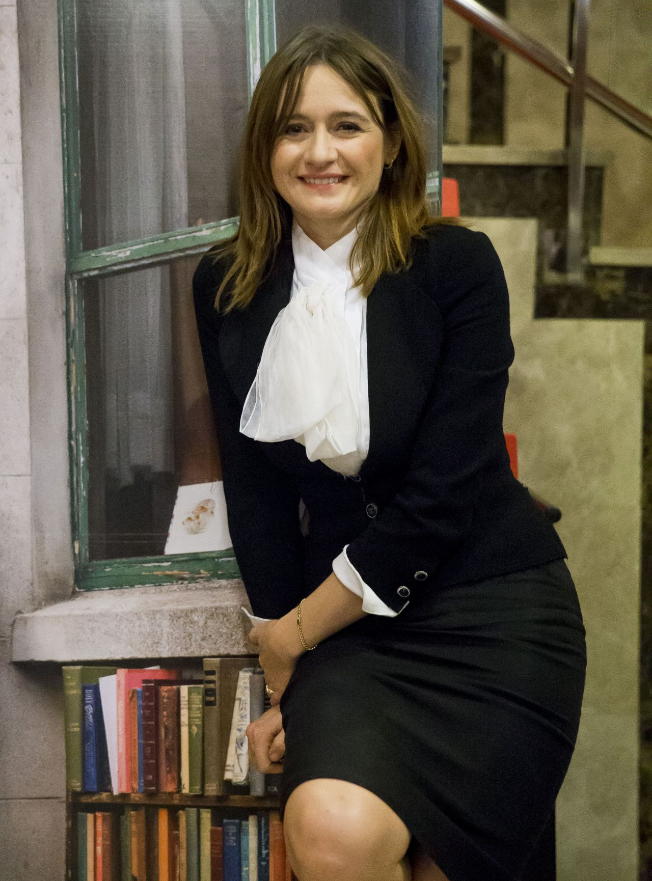 Emily Mortimer Quot The Bookshop Quot Photocall In Madrid