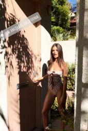 Emily Ratajkowski in Bikini - Social Media 11/08/2017