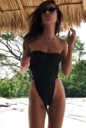Emily Ratajkowski in Bikini - Social Media 11/24/2017