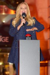 Emma Bunton - Switches ON the Lights of the Royal Exchange Christmas Tree in London 11/22/2017