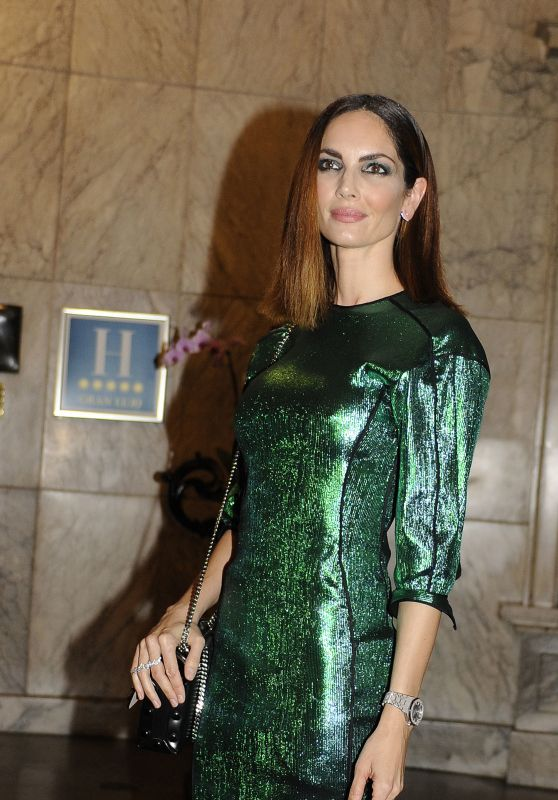 Eugenia Silva – Manolo Blahnik: El Arte Del Zapato Exhibition in Madrid