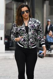 Eva Longoria in Tights Out in Beverly Hills
