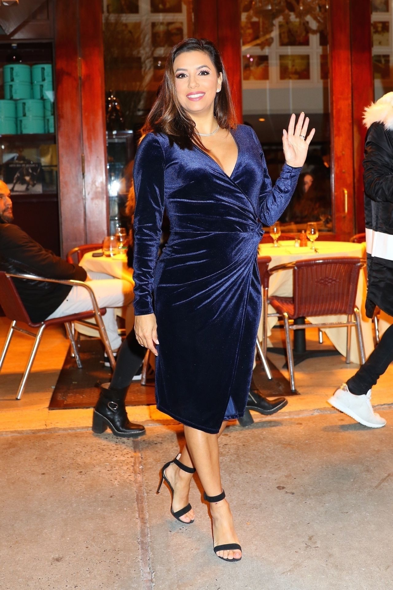Eva Longoria Shows Off Her Eclectic Style Cipriani