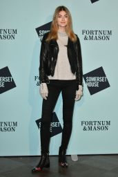 Eve Delf - Skate at Somerset House Launch Party in London 11/14/2017
