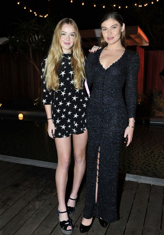 Faith Schroder and Cambrie Schroder – Forever 21 CelebrateForever Winter Wonderland Event in LA