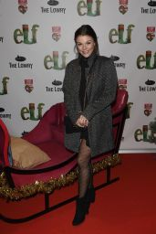 Faye Brookes and Tisha Merry – Elf The Musical Press Night and Gala Performance in Manchester