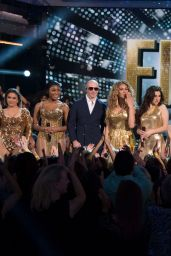 """Fifth Harmony and Pitbull Performs Live at """"Dancing With The Stars"""" Semi-Finals in Los Angeles 11/20/2017"""