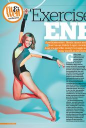 Gabby Logan - Fit & Well Magazine December 2017 Issue
