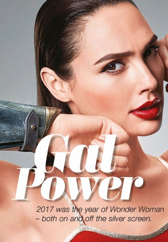 Gal Gadot - Cleo Magazine Singapore December 2017 Issue