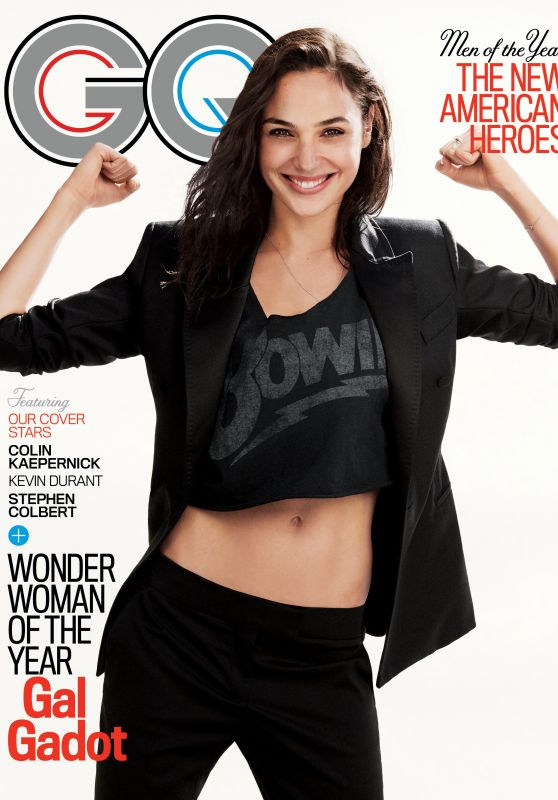 Gal Gadot - GQ Magazine USA December 2017 Issue