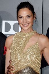 """Gal Gadot - """"Justice League"""" Red Carpet in Los Angeles"""