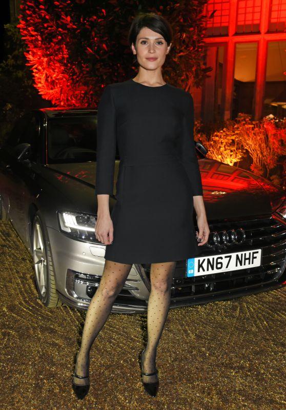 Gemma Arterton - Audi A8 Launch in Midhurst 11/24/2017