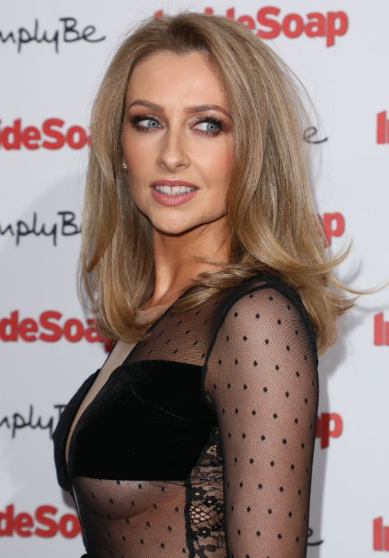 Gemma Merna at Inside Soap Awards 2017 in London