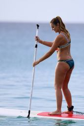 Georgina Leigh Cantwell - Paddle Boarding in Barbados 11/06/2017
