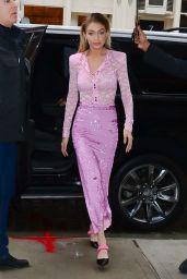 Gigi Hadid is Stylish - New York City 11/12/2017