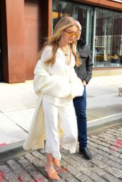 Gigi Hadid Style - Wearing White in NYC 11/15/2017