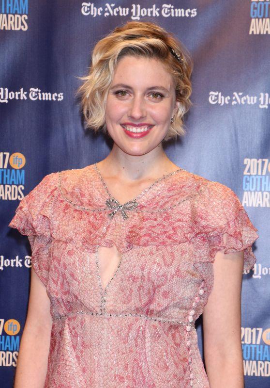 Greta Gerwig – Gotham Independent Film Awards 2017 Red Carpet