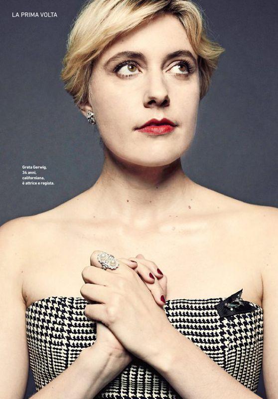 Greta Gerwig – Io Donna Magazine November 2017 Issue