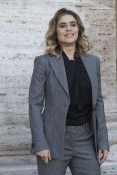 """Greta Scarano – """"Smetto Quando Voglio-Ad Honrem"""" Photocall in Rome"""
