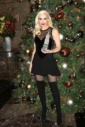 Gwen Stefani - Empire State Building Lighting Ceremony in NYC 11/20/2017