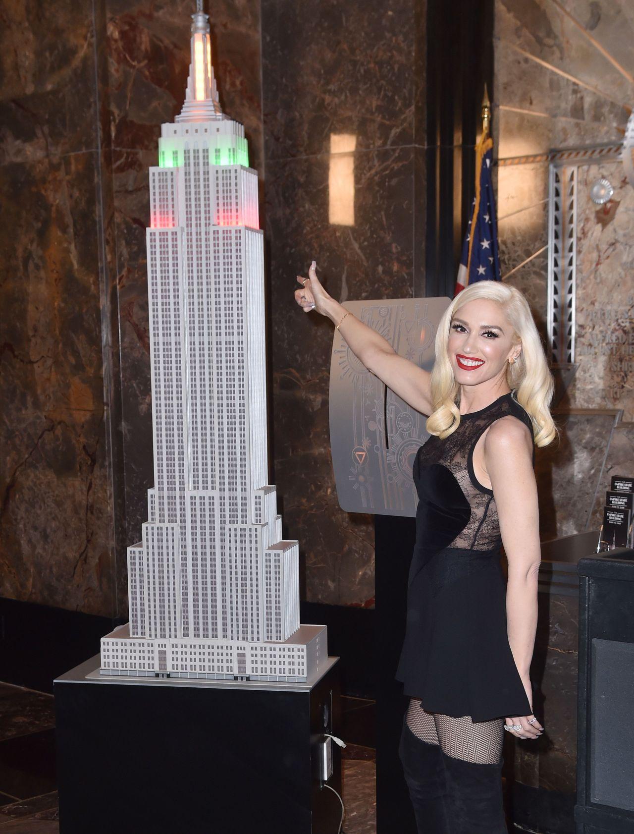 Gwen Stefani Empire State Building