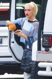 Gwen Stefani Urban Street Style - Running Rrrands in LA 11/15/2017