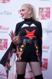 Gwen Stefani - Westfield White City Shopping Centre Christmas Lighting, London 11/30/2017