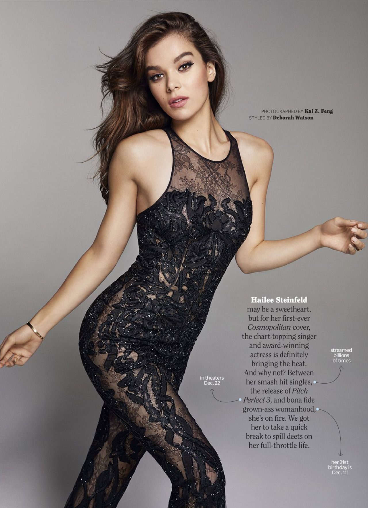 Hailee steinfeld in cosmopolitan magazine december 2019 naked (48 images)