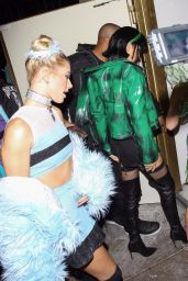 Hailey Baldwin – Halloween Party in West Hollywood 10/31/2017