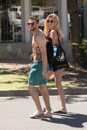 Hannah Cooper in Bikini Top - Australia 11/24/2017