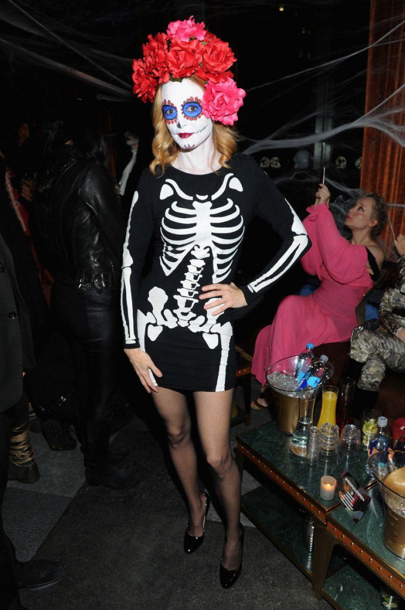 Heather Graham - Heidi Klum's Halloween Party in New York 10/31/2017