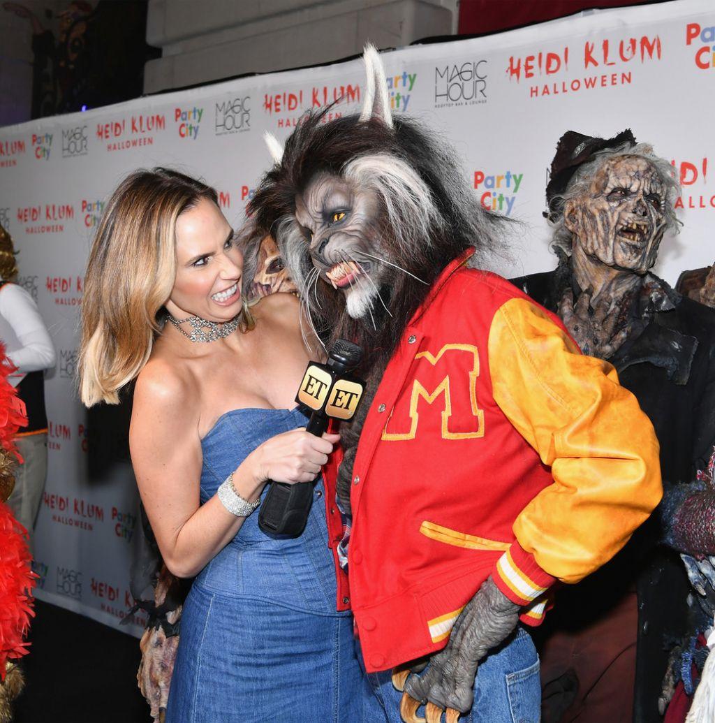 Klum – Heidi Klum Halloween Party in New York 10/31/2017