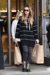 Heidi Klum - Shopping at Nordstroms in Woodland Hills 11/12/2017