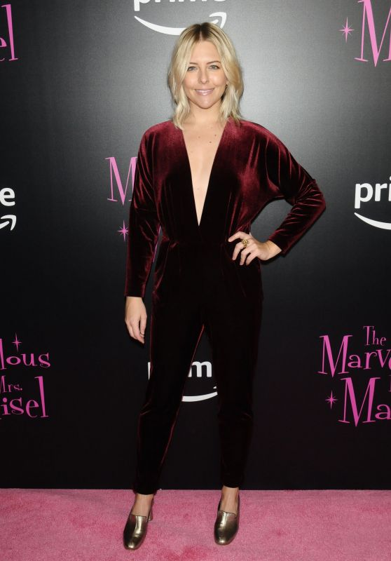 """Helene Yorke - """"The Marvelous Mrs. Maisel"""" TV Series Premiere in New York"""