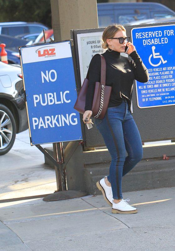 Hilary Duff in Casual Attire - Runs errands in Beverly Hills