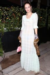 Idina Moncreiffe - Coral Room Launch Party at Bloomsbury Hotel in London 11/23/2017