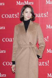Im Yoon-ah – MaxMara Coats Collection Exhibition in Seoul