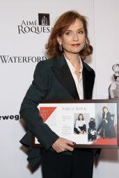 Isabelle Huppert – Moves Magazine Power Women Gala 2017 in New York
