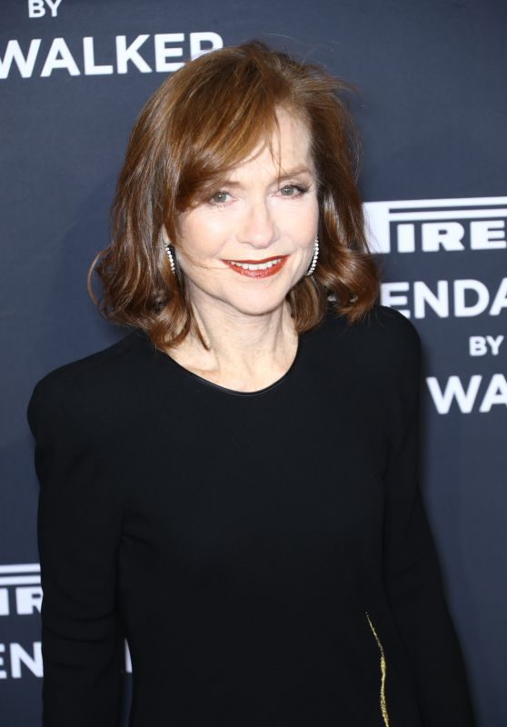 Isabelle Huppert – Pirelli Calendar 2018 Cocktail Reception and Gala Dinner in NY