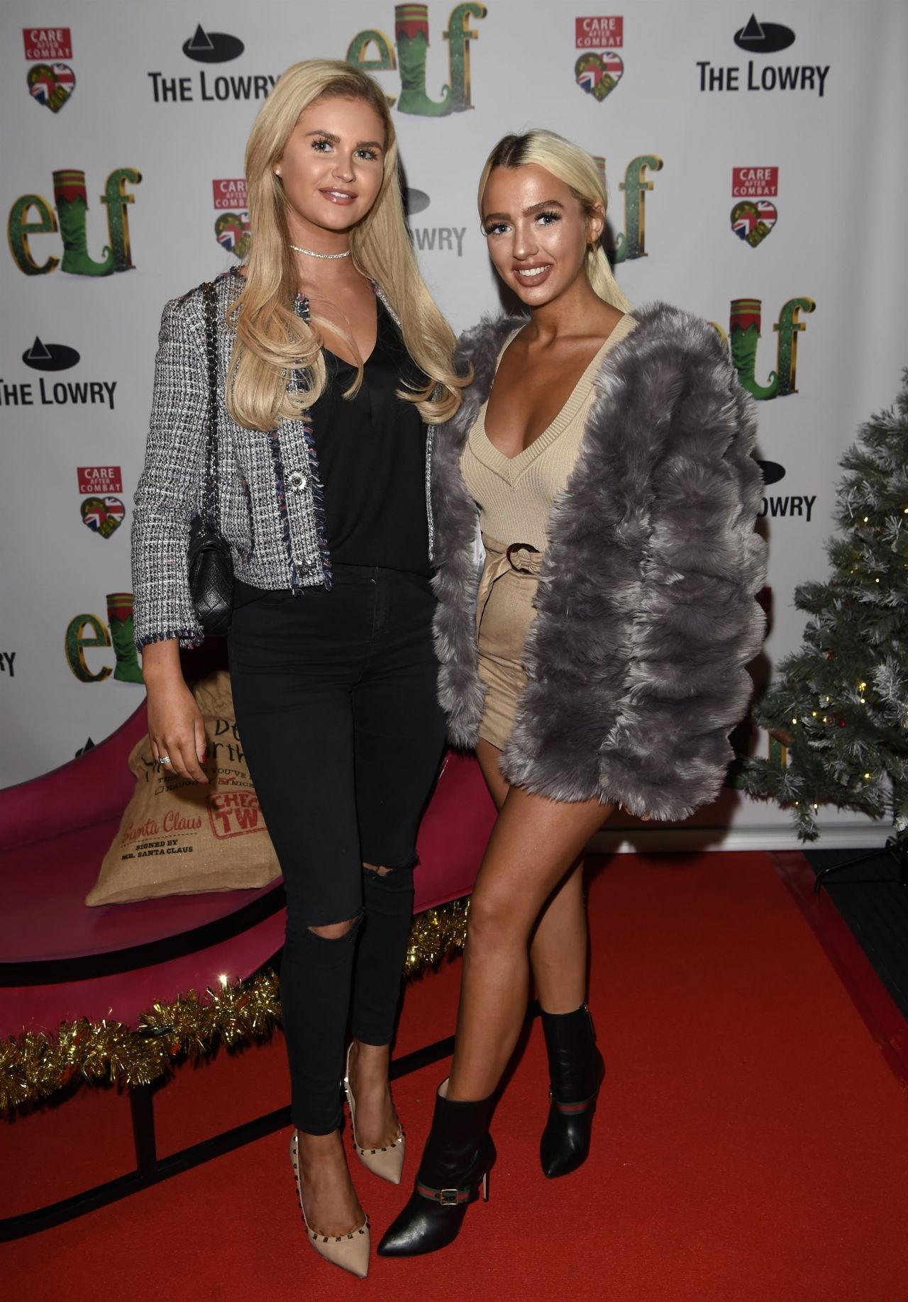Isabelle Warburton – Elf The Musical Press Night and Gala Performance in Manchester