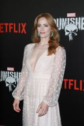 """Jaime Ray Newman – """"Marvel's The Punisher"""" Premiere in New York"""