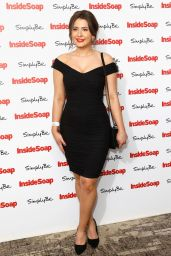 Jasmine Armfield at Inside Soap Awards 2017 in London